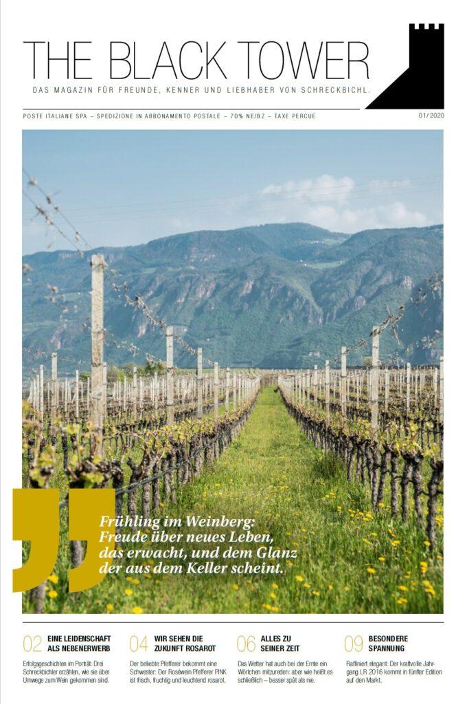 Weinmagazin 01/2020, deutsche Fassung