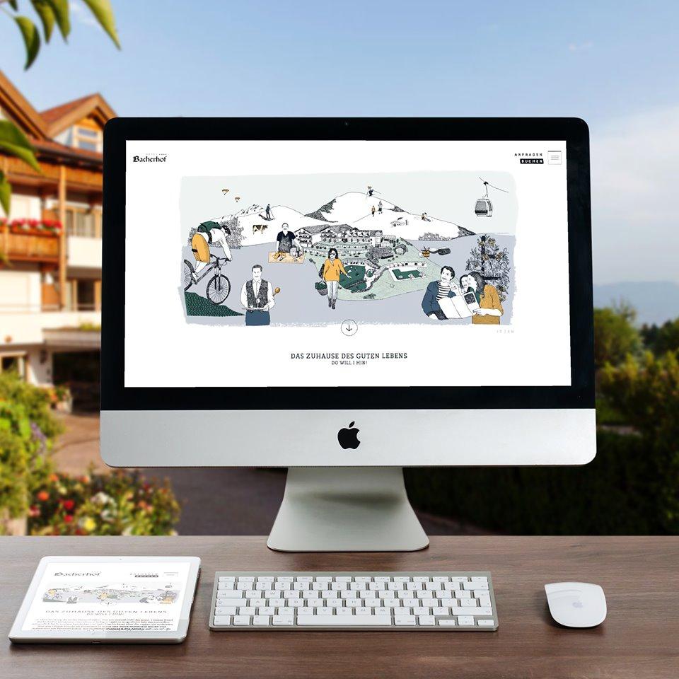 Bacherhof Hotel Website Italienisch